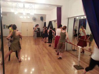 Tango Nar Dans Kursu Kadin Teknik Dersi 2