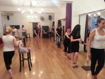 (Türkçe) Tango Nar Dans Kursu Kadin Teknik Dersi 3