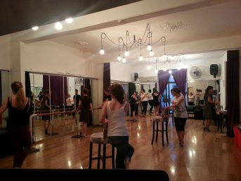 Tango Nar Dans Kursu Kadin Teknik Dersi